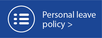 Personal Leave Policy